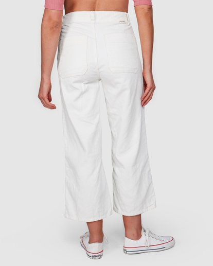 5 Salty Beach Pant White 6508414 Billabong