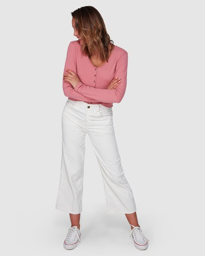 1 Salty Beach Pant White 6508414 Billabong