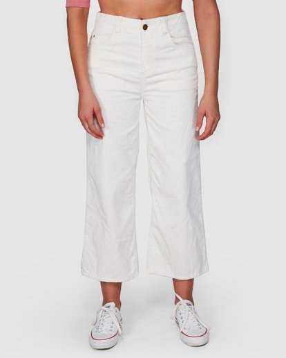 4 Salty Beach Pant White 6508414 Billabong