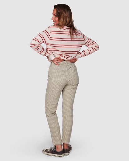 2 Check It Mom Jeans Beige 6508431 Billabong