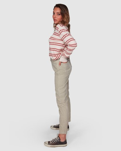 1 Check It Mom Jeans Beige 6508431 Billabong