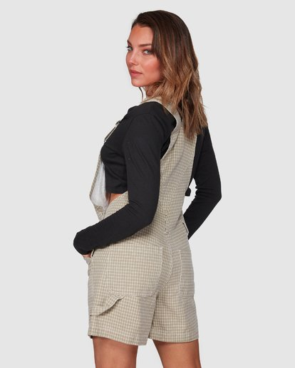 3 Check It Out Overalls Beige 6508432 Billabong