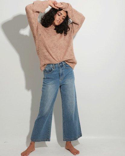 0 Winnie Wide Leg Jeans Blue 6508433 Billabong