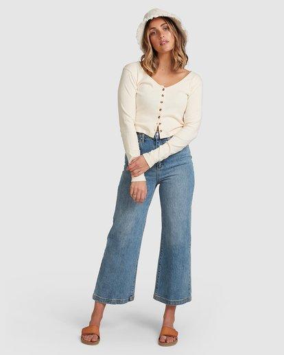 6 Winnie Wide Leg Jeans Blue 6508433 Billabong