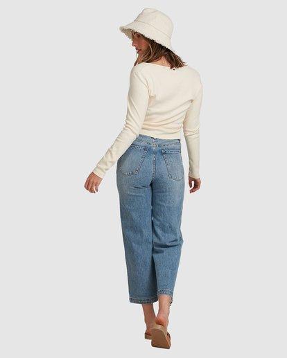3 Winnie Wide Leg Jeans Blue 6508433 Billabong