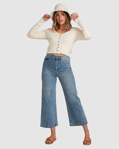 1 Winnie Wide Leg Jeans Blue 6508433 Billabong