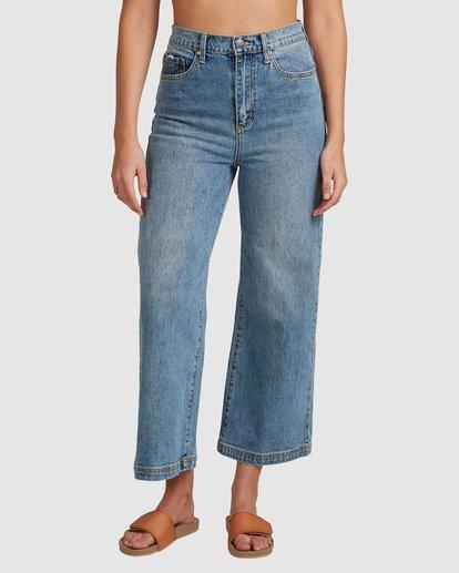 4 Winnie Wide Leg Jeans Blue 6508433 Billabong