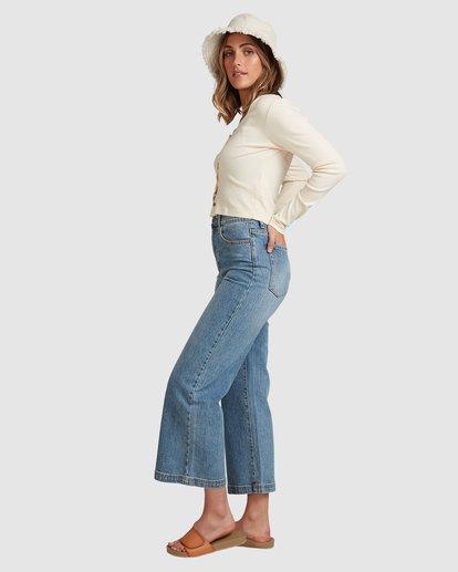 2 Winnie Wide Leg Jeans Blue 6508433 Billabong