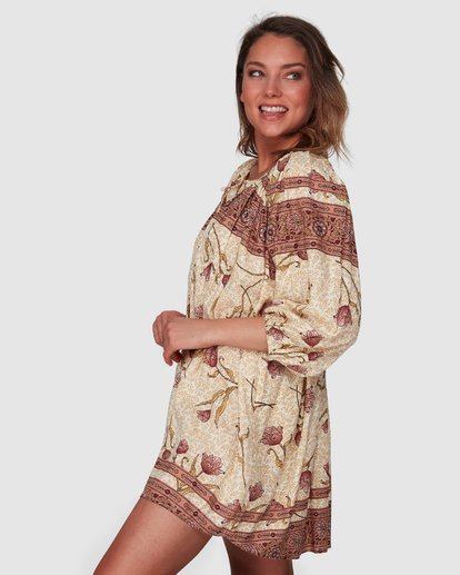2 Driftaway Dress Beige 6508472 Billabong