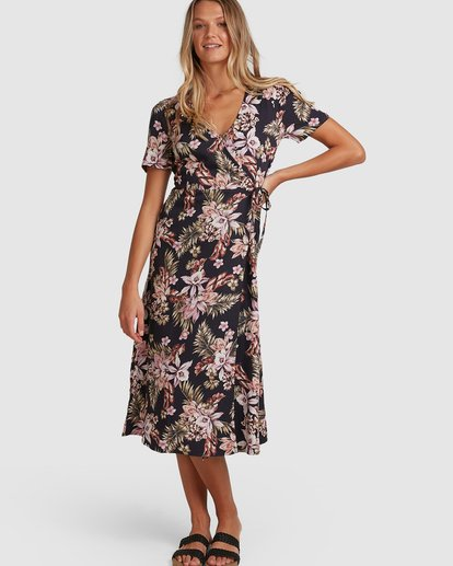 0 Easy Love Midi Dress Black 6508473 Billabong