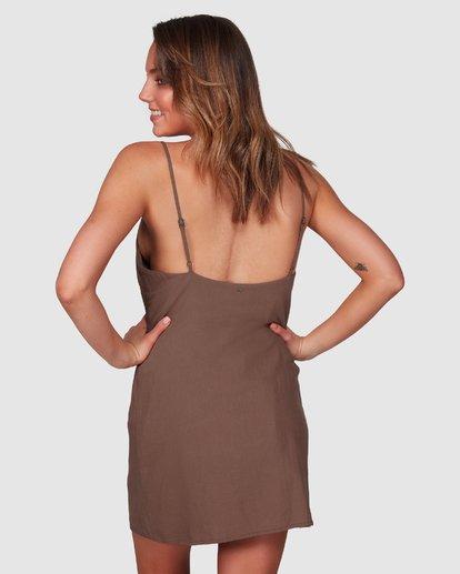 3 Summer Love Dress Brown 6508475 Billabong