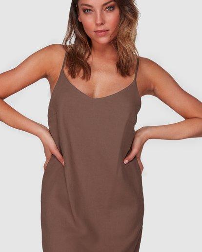 4 Summer Love Dress Brown 6508475 Billabong