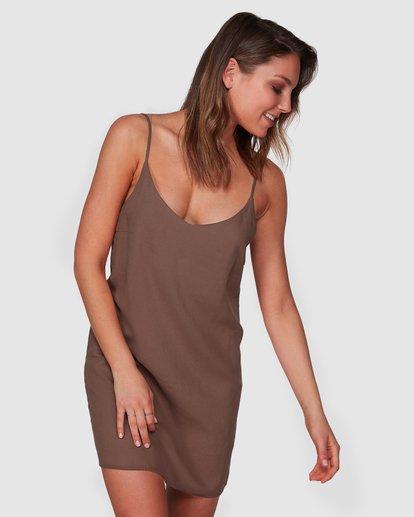 1 Summer Love Dress Brown 6508475 Billabong