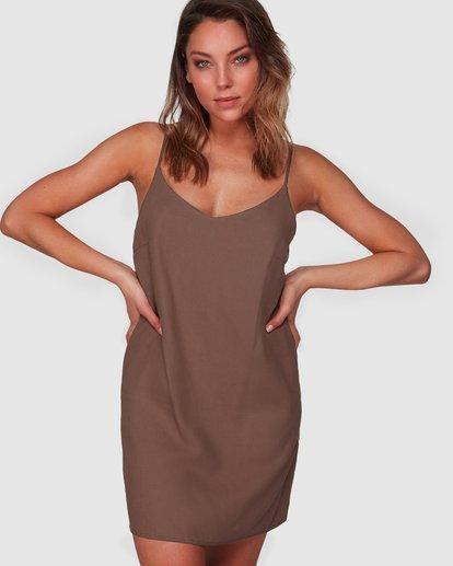 0 Summer Love Dress Brown 6508475 Billabong