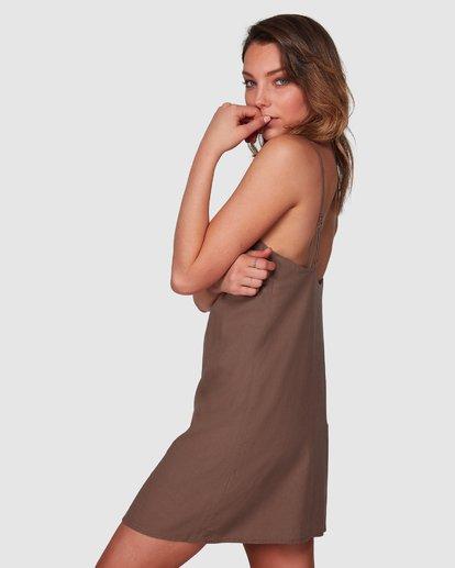 2 Summer Love Dress Brown 6508475 Billabong