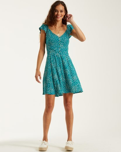 2 Forever Yours Dress Green 6508477 Billabong
