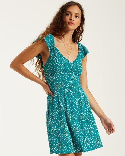 0 Forever Yours Dress Green 6508477 Billabong