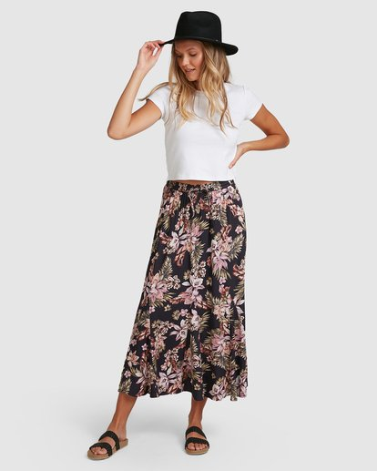 8 Easy Love Skirt Black 6508521 Billabong