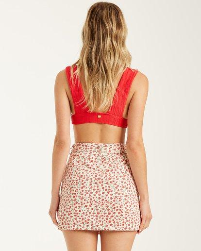 2 Cute As A Button Skirt Grey 6508524 Billabong