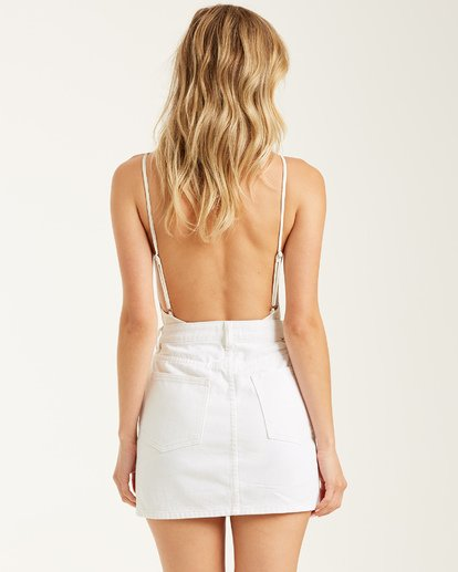 2 Cute As A Button Skirt White 6508524 Billabong