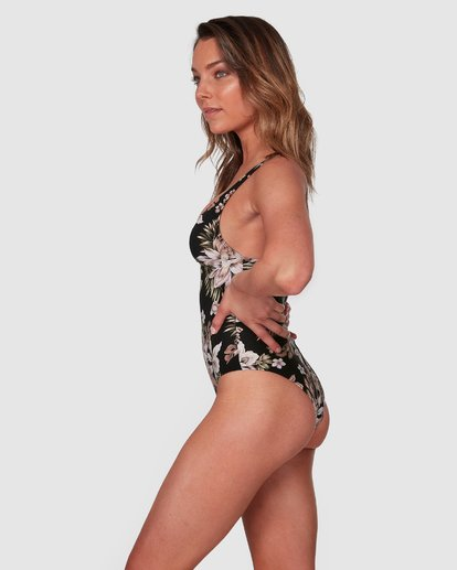 2 Easy Love Plunge One Piece Black 6508554 Billabong