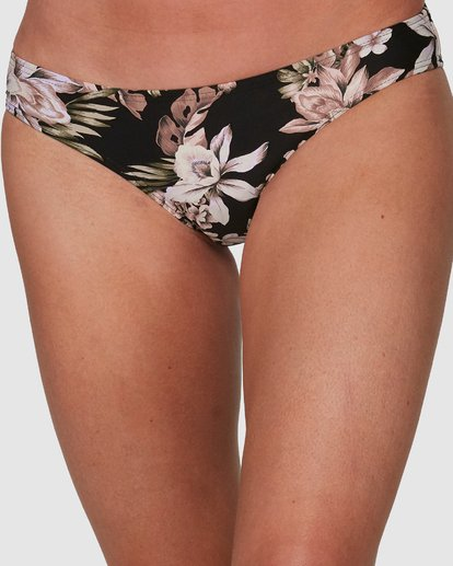 3 Easy Love Lowrider Bikini Bottoms Black 6508557 Billabong