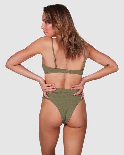0 Waffle Maui Rider Bikini Bottoms Green 6508562 Billabong