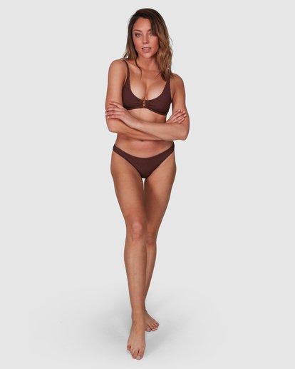 8 Summer High Ring Bralette Bikini Top Brown 6508569 Billabong