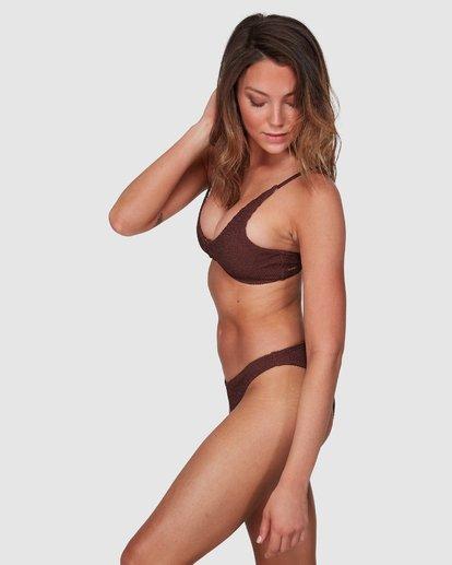 4 Summer High Ring Bralette Bikini Top Brown 6508569 Billabong
