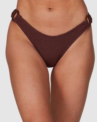 3 Summer High Hike Bikini Bottoms Brown 6508571 Billabong