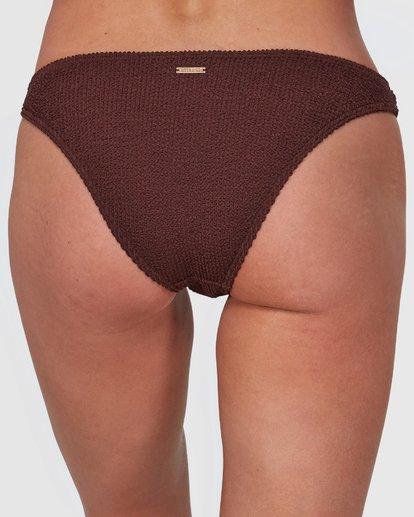 4 Summer High Tropic Bikini Bottoms Brown 6508572 Billabong