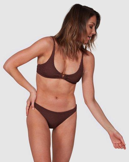 1 Summer High Tropic Bikini Bottoms Brown 6508572 Billabong