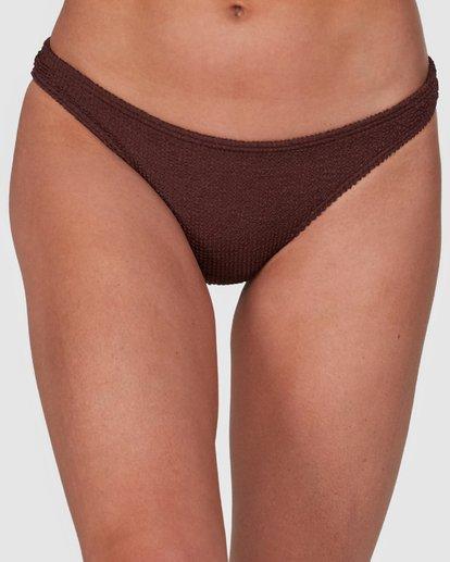 3 Summer High Tropic Bikini Bottoms Brown 6508572 Billabong