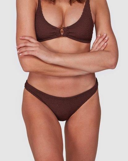 7 Summer High Tropic Bikini Bottoms Brown 6508572 Billabong