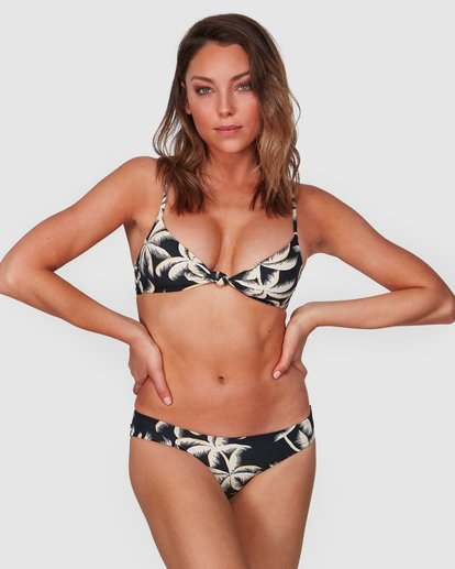 1 Lost Palms Lowrider Bikini Bottoms Black 6508575 Billabong