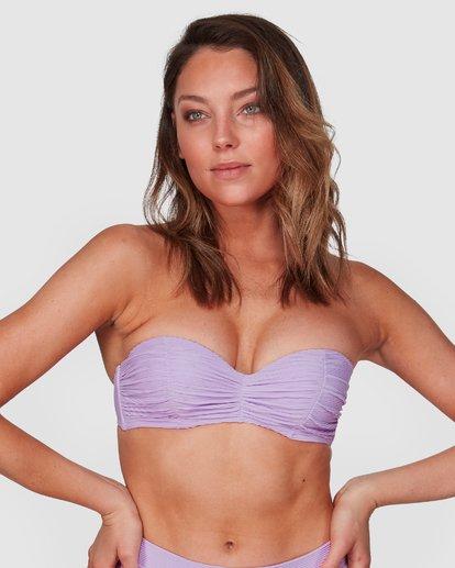 1 Tanlines Bustier Bikini Top Purple 6508577 Billabong