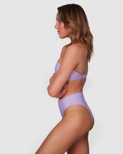 4 Tanlines Bustier Bikini Top Purple 6508577 Billabong