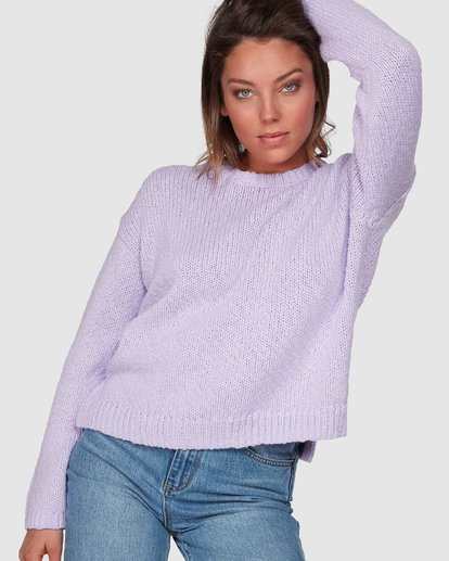 0 Venice Sweater Purple 6508791 Billabong