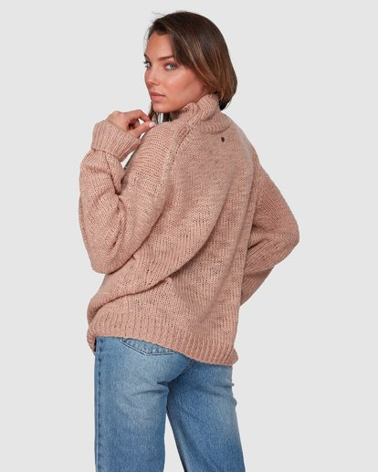 3 Chella Sweater Pink 6508793 Billabong