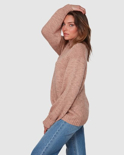 2 Chella Sweater Pink 6508793 Billabong