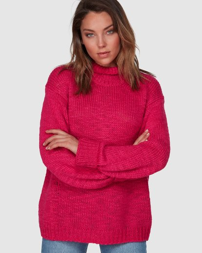 1 Chella Sweater Red 6508793 Billabong