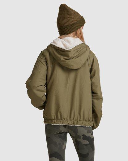 3 Boundary Reversible Jacket Green 6508890 Billabong