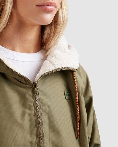4 Boundary Reversible Jacket Green 6508890 Billabong