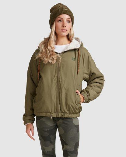 1 Boundary Reversible Jacket Green 6508890 Billabong