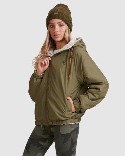 2 Boundary Reversible Jacket Green 6508890 Billabong