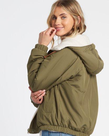 7 Boundary Reversible Jacket Green 6508890 Billabong