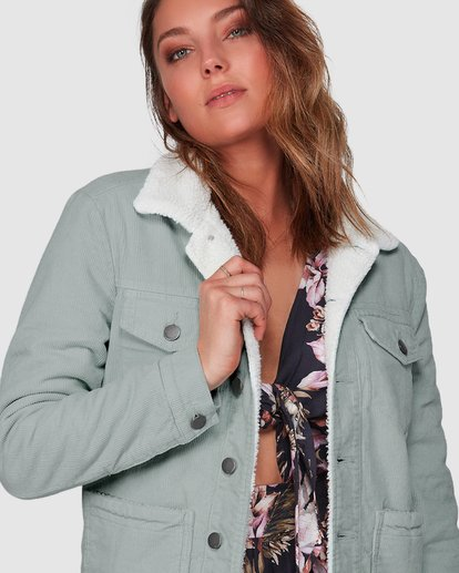4 New Days Jacket Green 6508892 Billabong