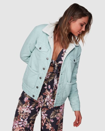1 New Days Jacket Green 6508892 Billabong