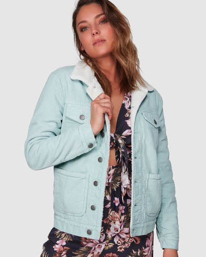 0 New Days Jacket Green 6508892 Billabong