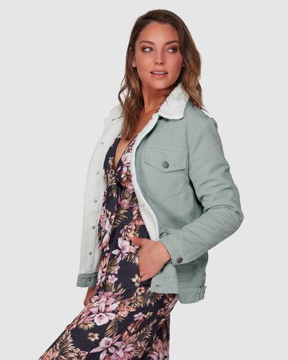2 New Days Jacket Green 6508892 Billabong